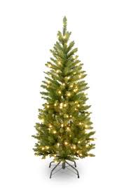 national tree 4 5 foot kingswood fir pencil tree with 150 clear