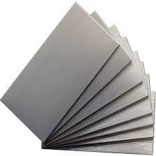 Metal Wall Tiles Kitchen Backsplash Instant Mosaic 12 In X 12 In Metal Backsplash Tile In Stainless