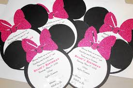 Minnie Mouse Baby Shower Invitations Templates - baby minnie mouse baby shower gallery handycraft decoration ideas