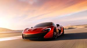 Mclaren P1 Concept Red Desktop Wallpaper