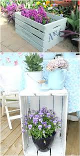 diy spring decorating ideas spring decor idea 1 wooden crate table diy spring home decor ideas