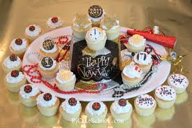 New Years Cupcake Decorating Ideas by Happy New Year Cupcakes My Cake