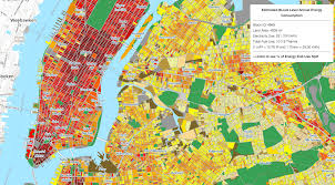 New York City On A Map by Horizon Utilities Putting Energy Savings Opportunities On The Map