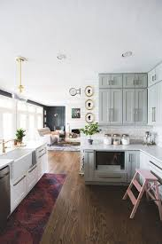 grey kitchen cabinets wood floor 31 kitchen color ideas best kitchen paint color schemes