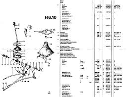 h06 10 the gear lever manual 4 speed extra sliders the ford