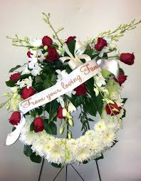 funeral ribbon funeral flower pictures find this pin and more on flower with