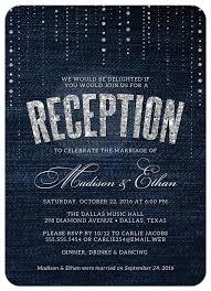 wedding reception invitation best 25 wedding reception invitations ideas on