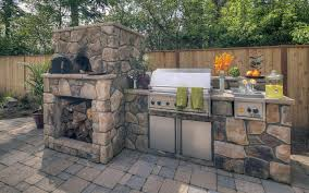 enchanting all in one outdoor kitchen with options for an
