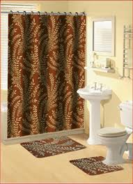 bathroom sets with shower curtain and rugs and accessories pmcshop
