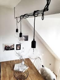 Esszimmer Lampe Rustikal Diy Lampen Und Leuchten Selber Machen Gliederkette Diy Lampe
