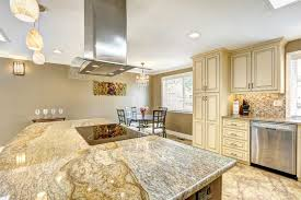 kitchen island with granite beautiful kitchen island with granite top built in stove and ho