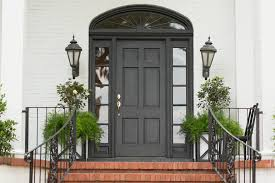 Front Door Planters by Inspired Railing Planters In Entry Modern With Horsetail Next To