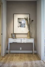 Hallway Accent Table How To Decorate The End Of A Hallway That Is Or Narrow With