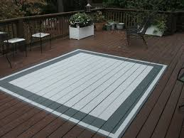 Best Outdoor Rug For Deck How To Make A Painted Rug On Your Deck Renocompare