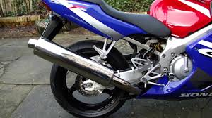 honda cbr 600 f4i 2001 sound youtube