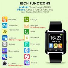 black friday 2017 iphone 2017 black friday on sale bluetooth watch smart u watch with