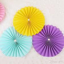 hanging paper fans tissue paper cut out paper fans pinwheels hanging flower paper