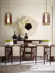 Dining Room Chandeliers Transitional Love The Balance And Symmetry This Space Has Thomas Pheasant