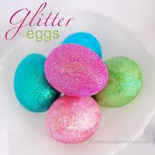glitter easter eggs how to make glitter easter eggs