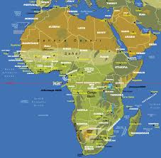 Africa Map by Africa Equator U2022 Mapsof Net