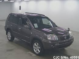 nissan x trail 2006 2006 nissan x trail gray for sale stock no 40551 japanese