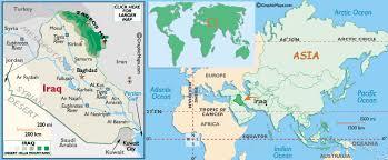 baghdad world map baghdad iraq map world
