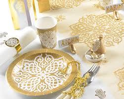 assiette jetable mariage assiette jetable mariage paquet de 10 assiettes motif orient