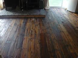has anyone put wood floors