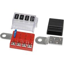 blue sea systems st blade battery terminal mount fuse block kit