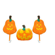 car costume car truck halloween pumpkin decoration kit set of 3