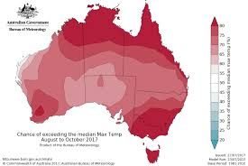 World Temperature Map October by Australian Climate Outlook Archive