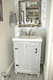 bathroom vanity accessories shabby chic small cabinet country
