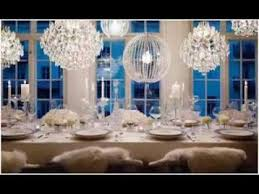 white party table decorations all white party decorating ideas youtube