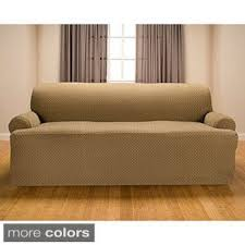 Sofa Slipcover 3 Cushion Sofa U0026 Couch Slipcovers Shop The Best Deals For Nov 2017