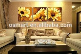 China Home Decor China Home Decor Wholesale Painted Pictures Sunflower Canvas