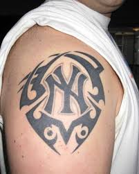 tattoo pictures of new york cool black newyork logo tattoo design on back tattoo design ideas