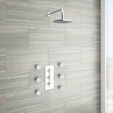 bathroom awesome cabinet wood tile shower floor bathroom decor