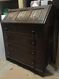wooden bureau bbx uk