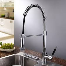 Buy Kitchen Faucet Aliexpress Buy Water Tap Kitchen Pull Out Faucet Led