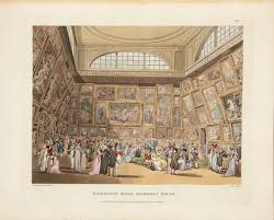exhibition room somerset house plate 2 in the book microcosm of