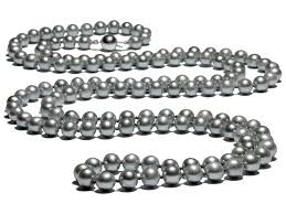 long silver pearl necklace images Sandi pointe virtual library of collections jpg