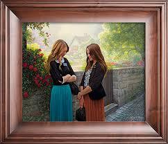 Seeking Painting Seeking The Spirit By Greg