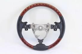 lexus steering wheels lexus es350 steering wheel with wood grain trm black 2007 2008