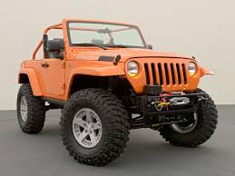orange jeep cj jeep wrangler rubicon king jeep enthusiast