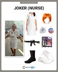 dress like nurse joker costume halloween and cosplay guides