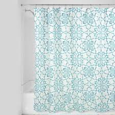 White And Teal Curtains Buy Teal And White Curtains From Bed Bath Beyond