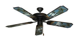 palm tree ceiling fan raindance ceiling fan in matte black with 52 series 351 arbor palm