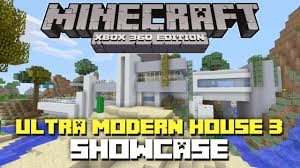 Ultra Modern Houses Minecraft Xbox 360 Ultra Modern House 3 Showcase Download
