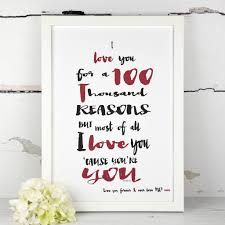 personalised a4 vintage love song quote print by a touch of verse