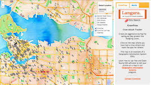 How To Use A Map Langara Continuing Studies Programs U0026 Courses Gis In Action